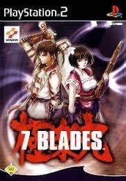 7 Blades zonder boekje (ps2 tweedehands game)