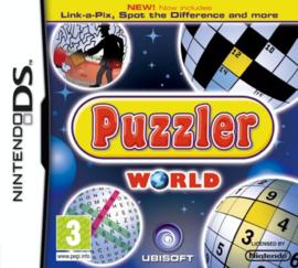 Puzzler World (Nintendo DS tweedehands game)