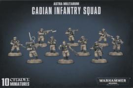 Astra Militarum Cadian Infantry Squad (Warhammer Nieuw)