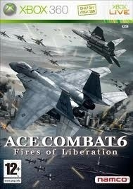 Ace Combat 6 Fires of Liberation zonder boekje (xbox 360 used game)
