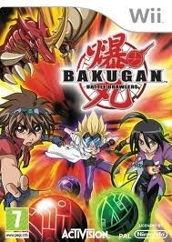 Bakugan Battle Brawlers (wii used game)