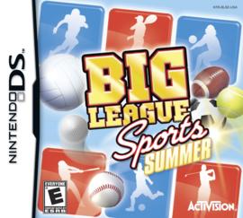 Big League Sports Summer (Nintendo DS nieuw)