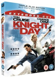 Knight and Day Extended Cut Blu-ray + Dvd (Blu-ray tweedehands film)