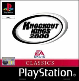 Knockout Kings 2000 classics beschadigd doosje (PS1 tweedehands game)