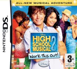 Disney Sing IT High School Musical 2 Work This Out! (Nintendo DS tweedehands game)