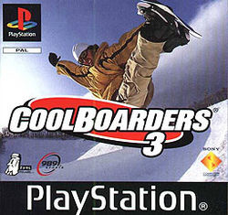 Cool Boarders 3 (PS1 tweedehands game)