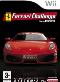Ferrari Challenge Trofeo Pirelli  (Nintendo Wii tweedehands game)