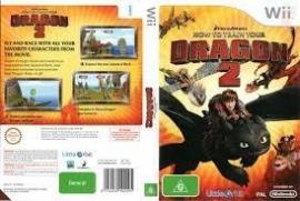 How to Train your Dragon 2 zonder boekje (Nintendo wii tweedehands game)