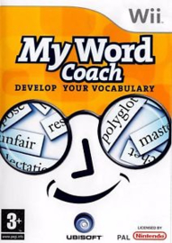 MY Word Coach Develop your vocabulary (Nintendo Wii used game)