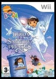Dora redt de sneeuwprinses zonder boekje (Nintendo Wii used game) Engels