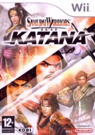 Samurai Warriors Katana zonder boekje (Nintendo Wii Tweedehands game)