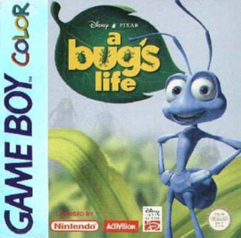 Disney's A bug's Life losse casette (Gameboy Color tweedehands game)