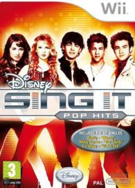 Disney Sing IT Pop hits (Nintendo Wii tweedehands game)