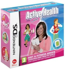 Active Health with Carol Vorderma (Software only) (Nintendo DS tweedehands game)