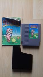 NES open tournament golf (NES tweedehands game)