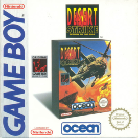 Desert Strike Return to the Gulf (Gameboy tweedehands game)