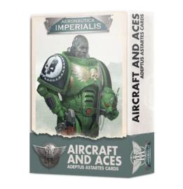 Aircraft and Aces Adeptus Astartes cards (warhammer nieuw)