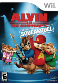 Alvin and the Chipmunks the Squeakquel (Nintendo Wii tweedehands game)