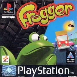 Frogger zonder boekje  game only (PS1 tweedehands game