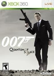 007 Quantum of Solace James Bond (Xbox 360 used game)