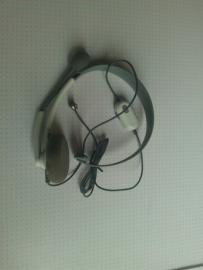 Headset Wit (xbox 360 used)