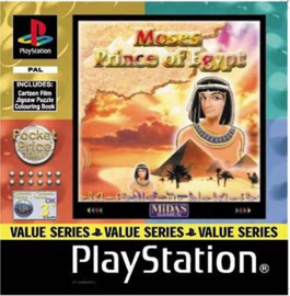 Moses Prince of Egypt (PS1 tweedehands game)