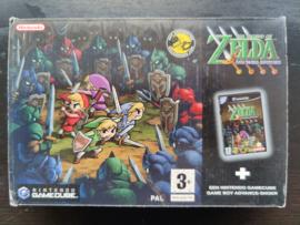 The Legend of Zelda four swords adventures (Game Cube tweedehands game)