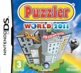 Puzzler World 2011 (Nintendo DS tweedehands game)