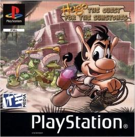 Hugo  (PS1 tweedehands game)