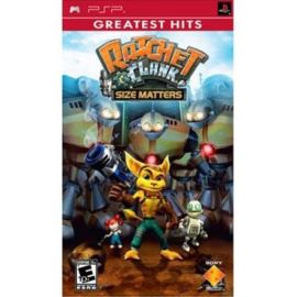 Ratchet & Clank Size Matters  Greatest Hits (psp nieuw)