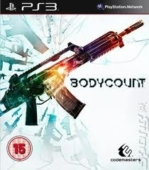 Bodycount (ps3 used game)