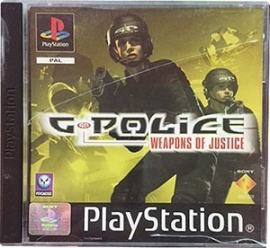 G-Police: Weapons of Justice  (ps1 tweedehands game)