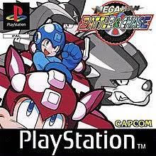Megaman Battle & Chase zonder boekje (ps1 tweedehands game)