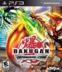 Bakugan Defenders of the Core (ps3 used game)