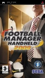 Football Manager Handheld 2009 (psp used game)