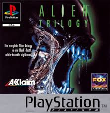 Alien Trilogy Platinum (PS1 tweedehands game)