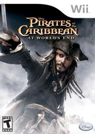 Pirates of the Caribbean At World's End (Nintendo Wii used game)