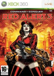 Command & Conquer Red Alert 3 zonder boekje (Xbox 360 used game)