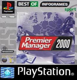 Premier Manager 2000 classics zonder boekje (PS1 tweedehands game)