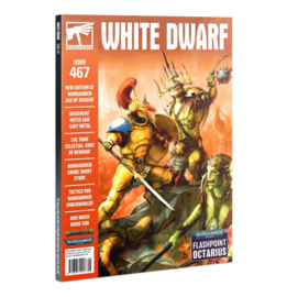 White Dwarf Issue 467 - Augustus 2021 (Warhammer nieuw)