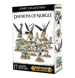Start Collecting Daemons of Nurgle (Warhammer Age of Sigmar nieuw)