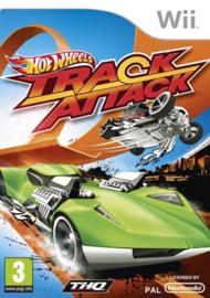 Hot Wheels Track Attack zonder boekje (wii used game)