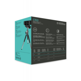 Logitech C922 - Pro Stream Webcam (pc nieuw)