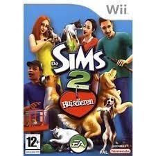De Sims 2 Huisdieren (Nintendo Wii tweedehands game)