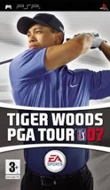 Tiger woods PGA Tour 07 (psp used game)