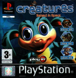 Creatures Raised in Space (PS1 tweedehands game)