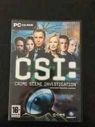 CSI interactief detective avontuur (pc game nieuw)