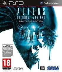 Aliens Colonial Marines limited edition (ps3 used game)