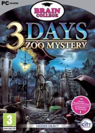 3 Days zoo Mystery (pc game nieuw)
