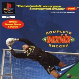 Onside Complete Soccer (PS1 tweedehands game)